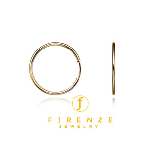 14K Gold Filled 20mm EarHoop Earring[Firenze Jewelry] 피렌체주얼리