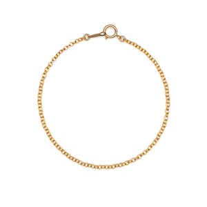 14K Gold Filled Handmade 1.6mmx180mm DoubleCableChain (Anklet) Bracelet[Firenze Jewelry] 피렌체주얼리